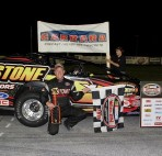 Todd Stone of Middlebury, VT will collect his 2013 Devil's Bowl Speedway championship on Saturday, February 1 at the Holiday Inn Rutland-Killington. (MemorEvents photo)