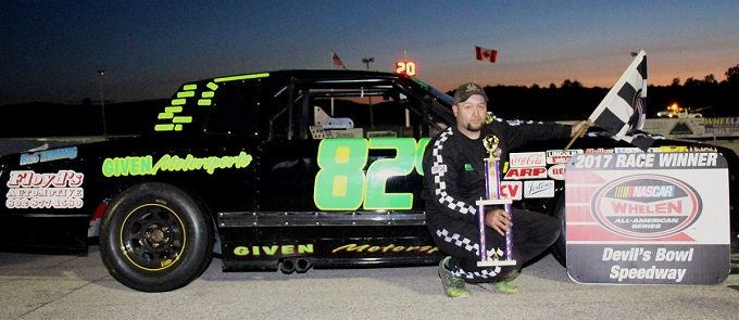 Back To Back For Bergeron In Devil S Bowl Speedway Late Models