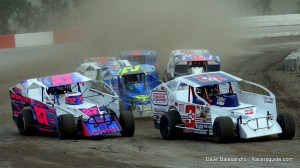 The King of Dirt Racing Series (KOD) Small Block 358 Modifieds will take part in two of the four mini-series championship events at Devil's Bowl in 2018.  (Dave Dalesandro/RacersGuide.com photo)